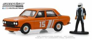 A-s-s-nuevo-GreenLight-1-64-Datsun-510-sedan-1970-Race-Car-Driver-hobby-Shop-2019