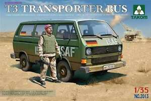 Takom (三花) 1/35 Bundeswehr T3 Transporter Bus #2013 *New Release*Sealed*
