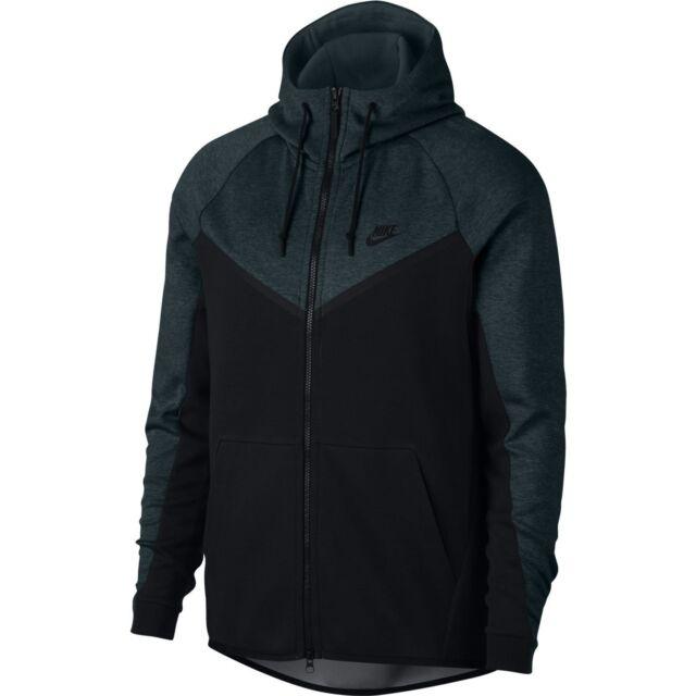 NEW Sz MED Nike Sportswear Tech Fleece Hoodie Full Zip Dark Stucco 885904-004