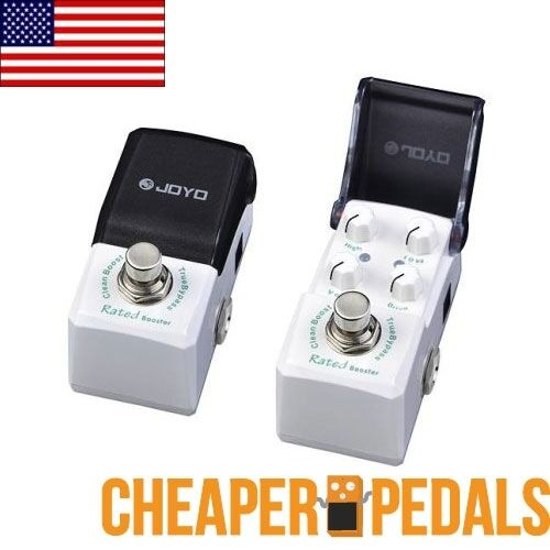 NEW JOYO RATED BOOST Clean Booster JF-301 Pedal US SELLER IRONMAN