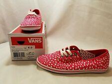 NWB Cedar (Spots) Raspberry/Cardovan Vans Womens size 6