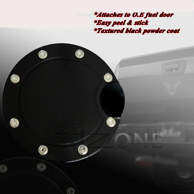Chrome Billet Gas Fuel Cap Door Cover For 94-01 Dodge Ram 1500//2500//3500