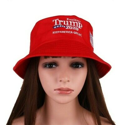 MAGA President Donald Trump 2020 Keep America Great Again Hat Red Bucket Hat US