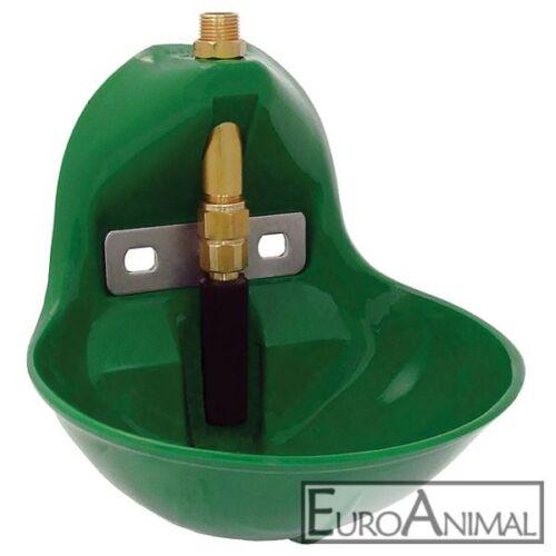 Kälber Kunststoff-Tränkebecken SUEVIA 10P Rohrventiltränke Pferde Schafe