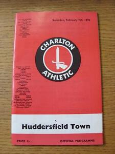 07021970 Charlton Athletic v Huddersfield Town   Item has no apparent faults - <span itemprop=availableAtOrFrom>Birmingham, United Kingdom</span> - Returns accepted within 30 days after the item is delivered, if goods not as described. Buyer assumes responibilty for return proof of postage and costs. Most purchases from business s - Birmingham, United Kingdom
