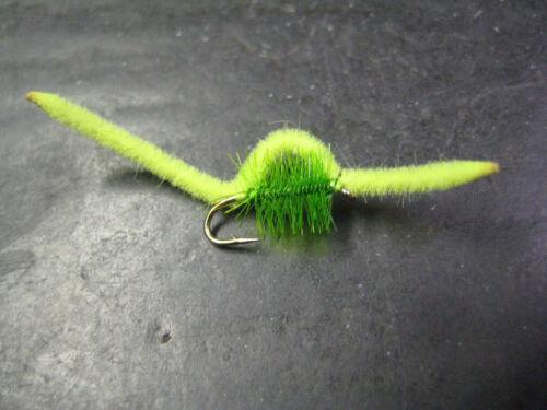 12 San Juan Worms Coburns Inch Worm # 12 Premium Fly Fishing Flies Brookside