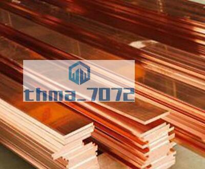 T2 Purple Copper Cu Flat Bar Plate 10mm x 60mm x 200mmMetal Strip