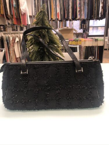 Metallic Tweed Fabric Kate Spade Bag