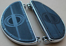 **New Harley Knucklehead Panhead Chrome Riveted Floor Boards Fits 1940-1965 #429