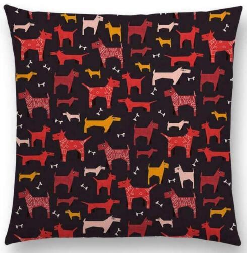 Forest Animal Cotton Linen Pillow Case Cushion Cover Waist Cover Home Decor