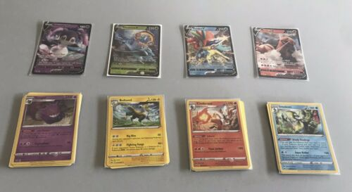 10 Cards Pokemon Sword And Shield Custom Booster Pack