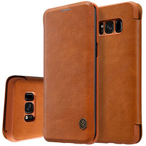 For Samsung Galaxy S8 Plus S8 Slim Shockproof Flip Card Slot Wallet Leather Case