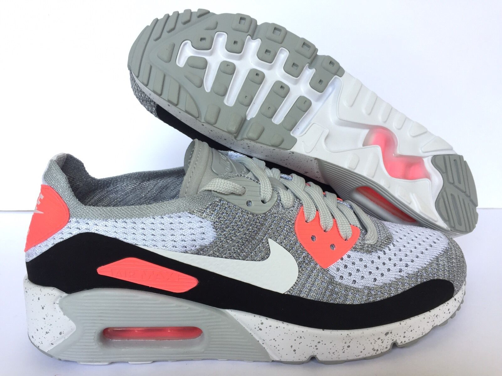 NIKEID AIR MAX NIKEiD  GREY-PINK-WHITE Price reduction US MEN Price reduction best-selling model of the brand