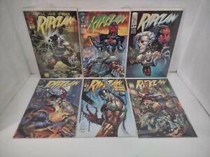 Complete Set of Ripclaw 1-6 Image Comics Wohl Winn