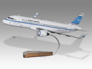 United Airbus A320 Germania Solid Kiln Dried Mahogany Wood Handmade Plane Desktop Model Transportation Collectables Aeronautica