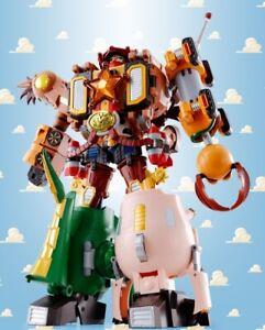 Bandai-Chogokin-Toy-Story-Chogattai-Woody-Robo-Sheriff-Star-NUOVO