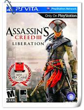PSV ASSASSIN'S CREED III: LIBERATION PlayStation VITA Action Adventure Ubisoft