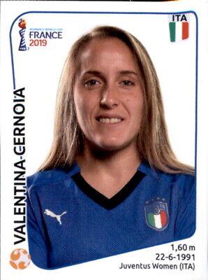 Hell Panini Frauen Wm 2019 Sticker 208 - Valentina Cernoia - Italien