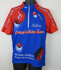 Philipp's Bike Team Cycling Shirt Radferien Mallorca Retro Jersey Top  L Large