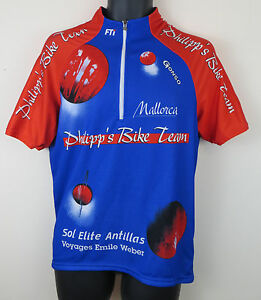 69d40d447 Philipp s Bike Team Cycling Shirt Radferien Mallorca Retro Jersey ...