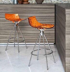 Sgabello Calligaris mod. Ice - soggiorno, cucina, colorato | eBay