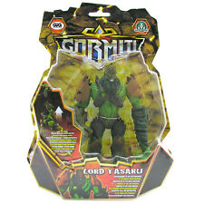 NEW Gormiti Lords of Nature 12cm Poseable Toy Figure *Lord Tasaru With Hook