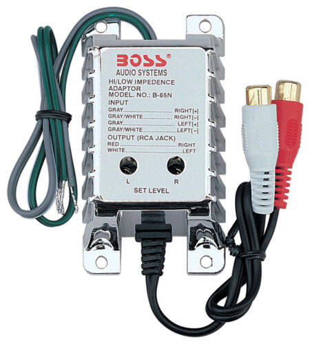 Boss Audio B65N High Level To Low Level Converter