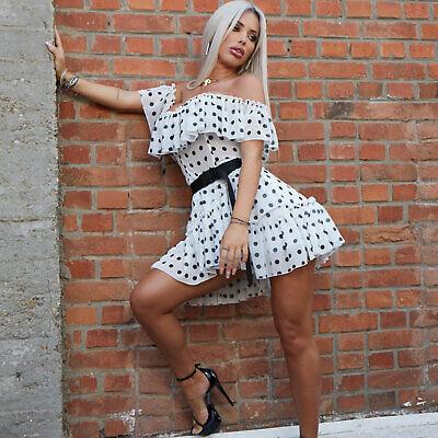 MEXTON By Alina Damenkleid Partykleid Longshirt Minikleid Tunika 34-38 #C947