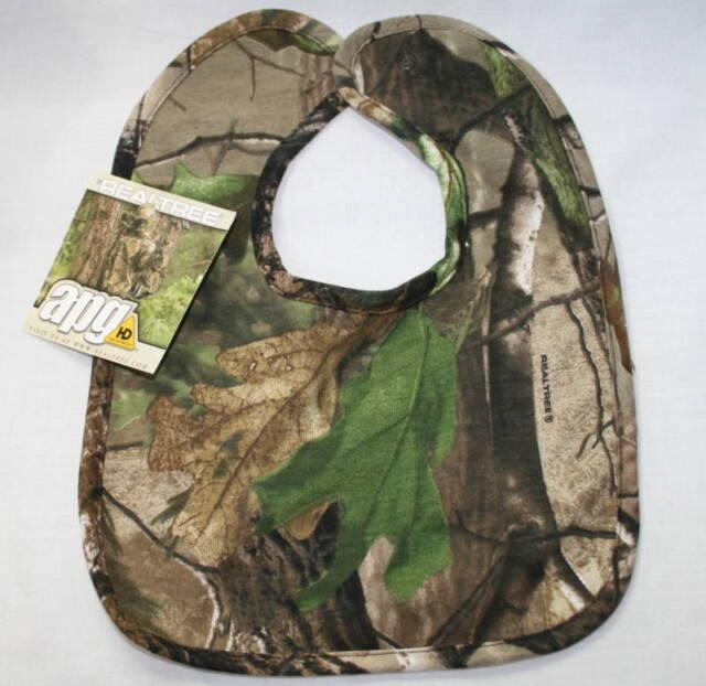 Realtree Camo Baby Bib, Camouflage