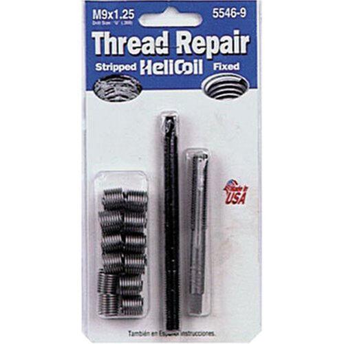 Helicoil 5546-9 Kit de Réparation de Filetage 9mm X 1.25 Nc