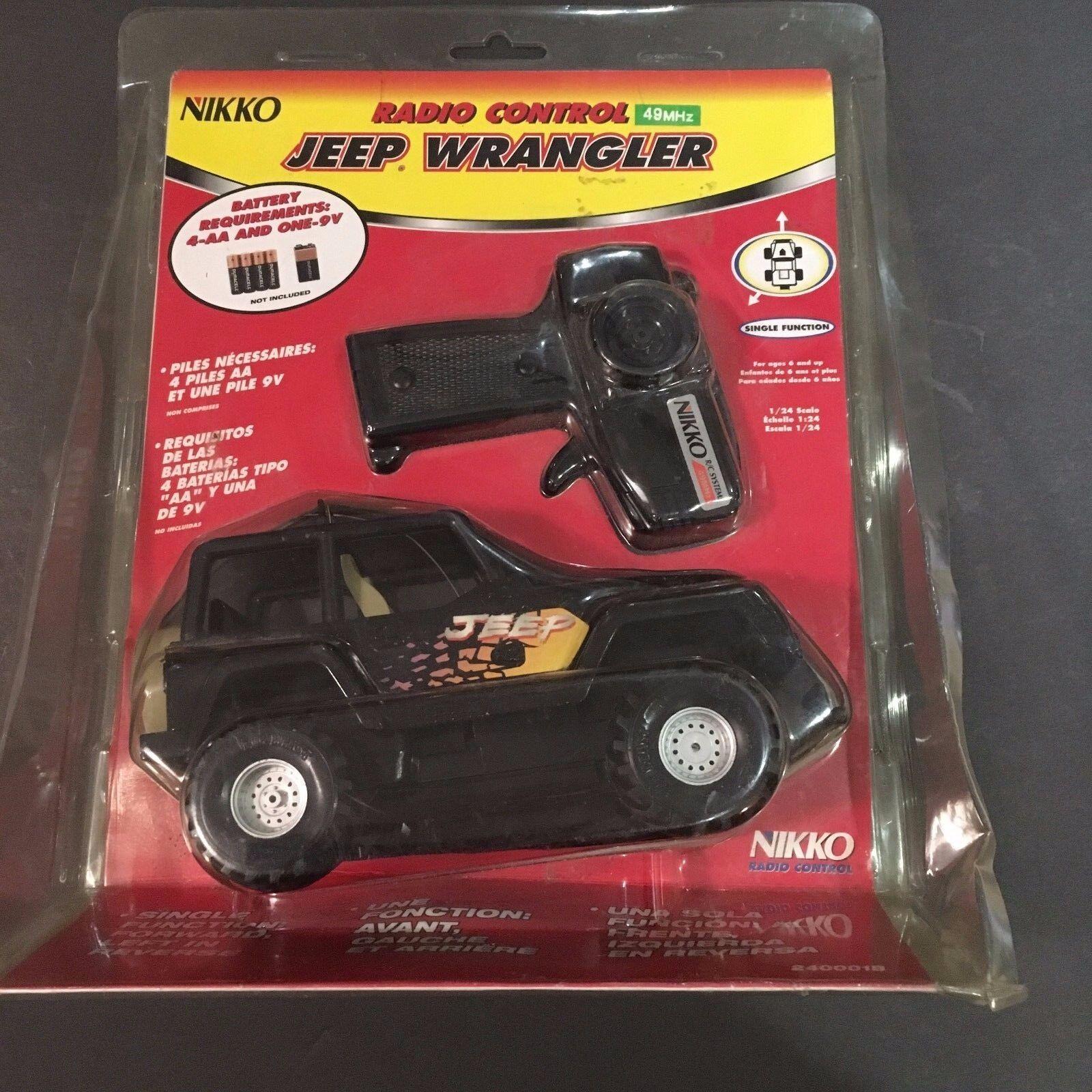 RARE Nikko Jeep Wrangler 240001b  Radio Controlled    RC cd5f0f