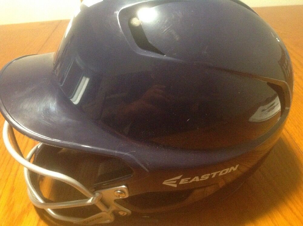 Easton Junior Z5 Batters Helmet with SB Mask color  NAVY