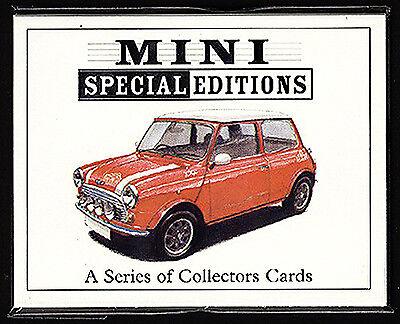 Cooper Red Hot Sprite Checkmate Italian Job MINI SPECIAL EDITIONS Ten Card Set