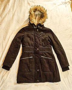 Details about Ladies Jacket, fishbone, size XS, Black, Upper 100% Cotton show original title