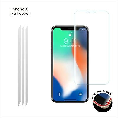 1 Pack Full Screen Face Curved Tpu Screen Protector Cover For Apple Iphone X Xs