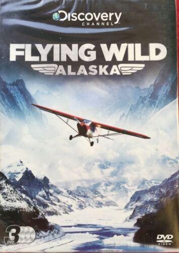 1 of 1 - Flying Wild Alaska [DVD] Triple Box Set.new sealed.discovery channel season 1