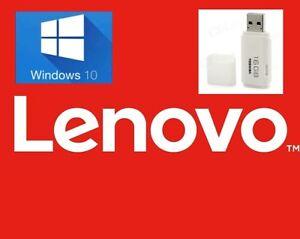 lenovo usb recovery drive windows 10