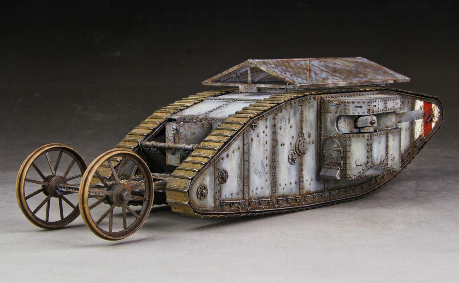Built takom 1   35 British mk.i, ganadora
