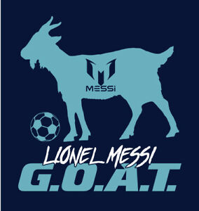 39a9dc96a Image is loading Lionel-Messi-G-O-A-T-shirt-GOAT-FC-Barcelona-Argentina-