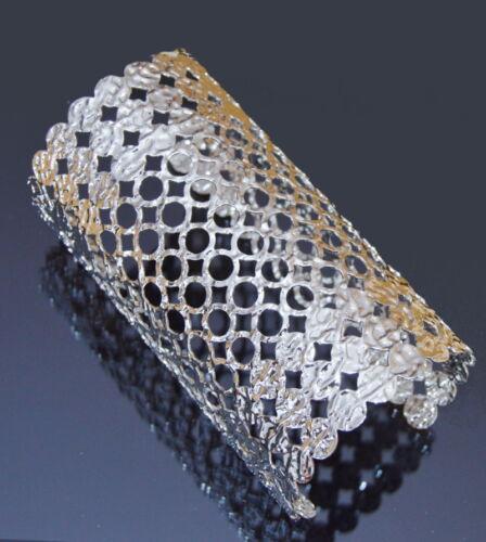 XXL pulsera ancha brazalete metal parís armspange 12 cm Manchette metal