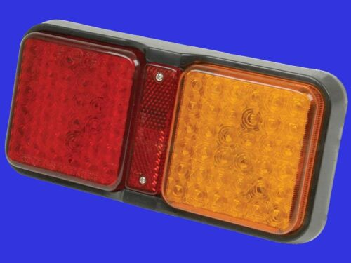 24V Rücklicht eckig 12 links oder rechts passend LED Rückleuchte