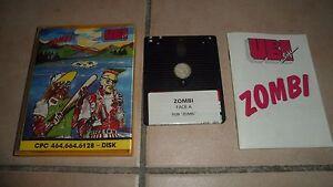 Jeu Amstrad Cpc Ubi Soft Zombi 1986 Rare Complet Avec Notice Be Ebay