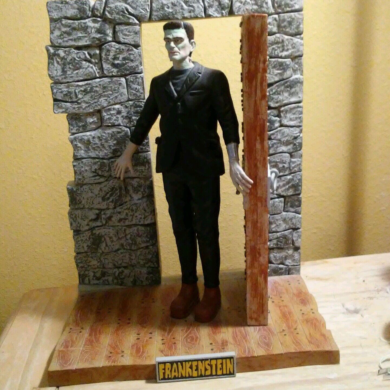 Frankenstein  Moebius  Model Kit built up and painted