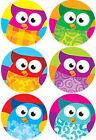 800 Wise Owl Stars School Childrens Reward Stickers