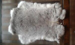 5x-Chinchilla-Rabbit-Skin-Fur-Pelt-for-crafts-fabric-animal-training-TR10-LARP