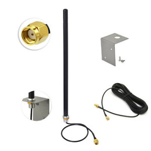 4G Replacement Antenna RP SMA For SPYPOINT LINK-WM-V CAMO CELLULAR TRAIL CAMERA