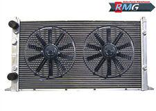 2 Row Aluminum Radiator For 1994-1998 Volkswagen Golf GTI MK3 VR6 1995 96 97+Fan