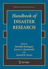 Handbook of Disaster Research by Springer-Verlag New York Inc. (Paperback, 2007)
