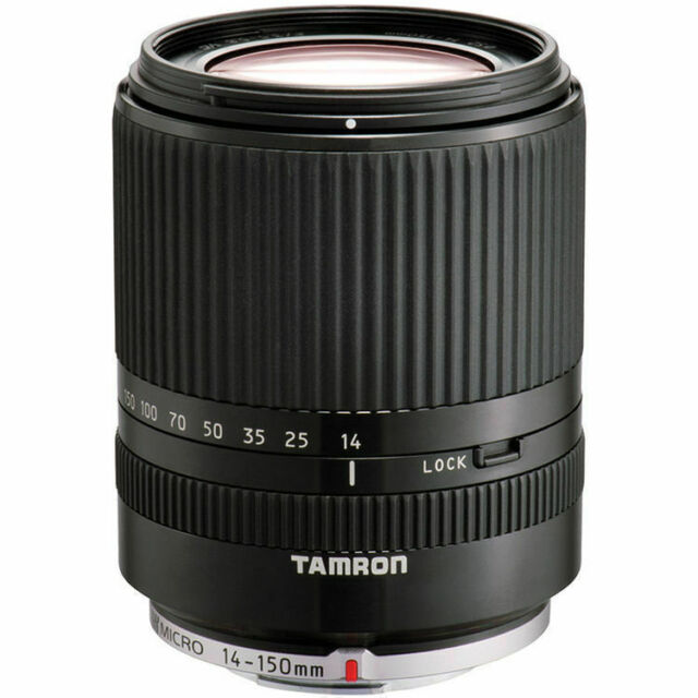 Tamron 14-150mm F/3.5-5.8 Di III Lens for Micro 4/3 (Black) US Authorized Dealer