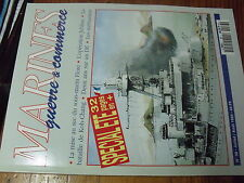 µ? Marines Guerre & Commerce n°38 Sous Marin Flore KOH-CHANG Methanier Car-Ferry